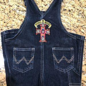 Wrangler Guns N' Roses overalls